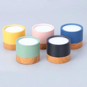 Projecteur LED colonne couleur de macaron en aluminium pour salon couloir