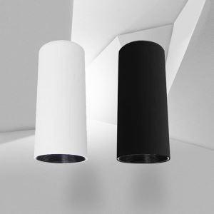 Projecteur LED en aluminium colonne style simple pour bar salle à manger