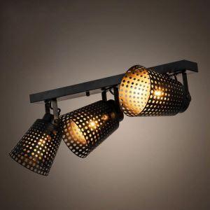 Projecteur en fer style rétro américain pour salon boutique chambre à coucher