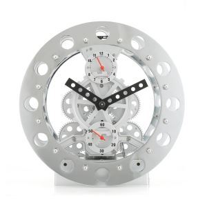 Horloge de table mécanique vitesse moderne