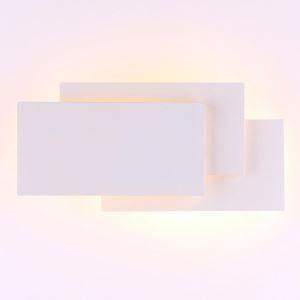 Applique murale LED simple moderne en acrylique pour salon chambre à coucher