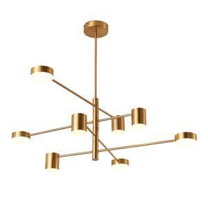 Lustre LED créatif moderne nordique pour chambre à coucher/salon suspension minimaliste