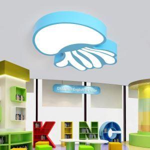 Lampe de plafond LED pour enfants créatif méduse 33w