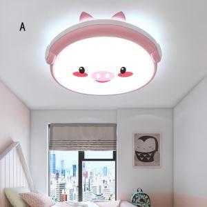 Lampe de plafond LED animal mignon pour chambre d'enfant/jardin d'enfant