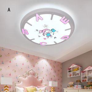 Cartoon style Plafonnier LED 18w contemporain pour enfants