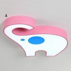 Lampe de plafond LED contemporain éléphant mignon pour Salon chambre à coucher d'enfant