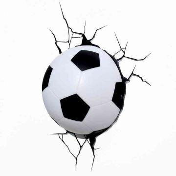 Applique Football Simple Chambre Mode D'enfant Créative Moderne 3d Pour Murale Style Forme De Led 2eWYED9IH