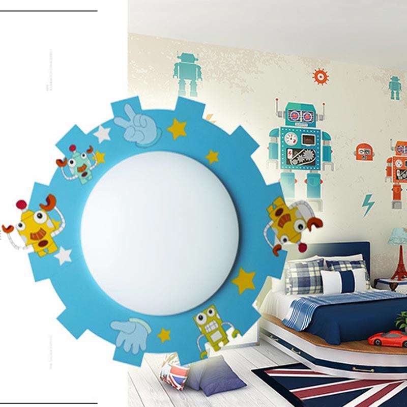 Plafonnier LED design caricature 6 modèles pour chambre à ...