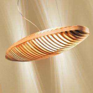 Suspension en bois L10cm pain simple moderne