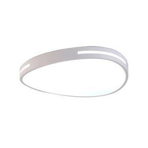 Plafonnier ovale à LED pour salon chambre salle à manger, design unique