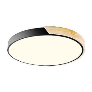 Plafonnier LED moderne simple à 5 modèles pour salon/chambre/salle