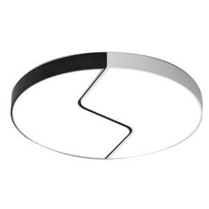 Moderne Plafonnier à LED Rond design esthétique D50cm pour chambre séjour