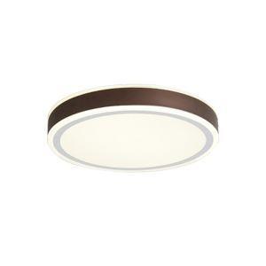 Plafonnier LED rond H6cm pour chambre à coucher/salle à manger, lampe contemporaine