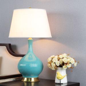Lampe à poser moderne avec commutateur à bouton pour chambre à coucher
