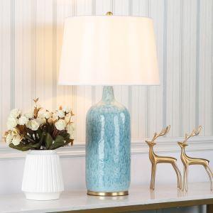 Lampe de table moderne avec commutateur à bouton pour salon salle d'étude