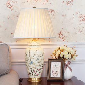 Lampe à poser Peinture Simple pour chambre à coucher, Commutateur à bouton