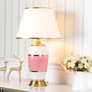 Lampe à poser moderne en céramique pour chambre à coucher/salle d'étude