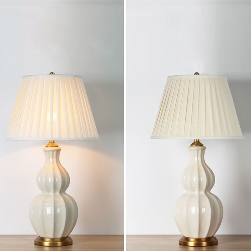 Moderne Table En Lampe À Minimaliste Forme Gourde Céramique De 2D9YEIWH