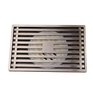 (Entrepôt UE) Accessoire de salle de bain antique finition en laiton massif drain de plancher-LK-1054