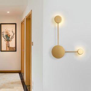 Lampe murale intérieur applique LED restaurant salon, style simple