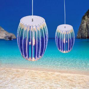 Suspension nordique pour salle à manger salon effet 3D luminaire décoratif style méditerranée