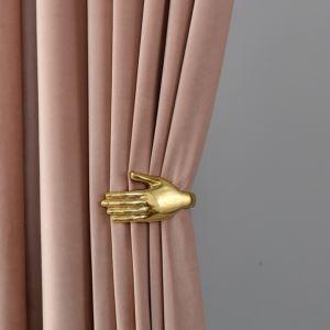 Rideau occultant couleur unie épais polyester nordique pour bureau chambre à coucher