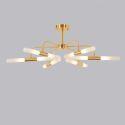 Suspension LED créative or H28cm pour salon salle à manger