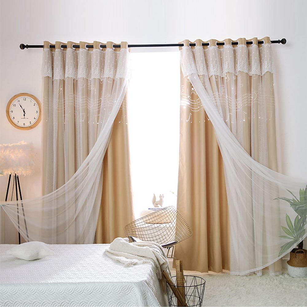Rideaux Design Pour Chambre rideau occultant en polyester note de musique pour chambre à