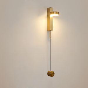 Applique en métal LED 2 modèles style simple pour salle chambre