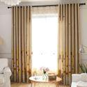 Voilage en polyester imprimé girafe enfant pour chambre à coucher salon