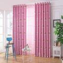 Rideau occultant imprimé arc-en-ciel en polyester pour chambre à coucher salon