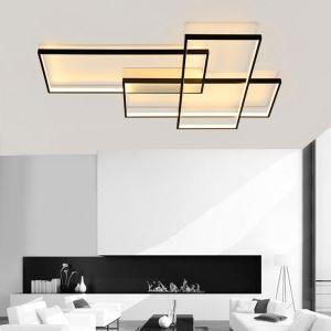 Applique murale LED en métal style simple moderne pour salon couloir