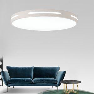 LED Lampe de Plafond Rond Moderne Blanc pour Chambre
