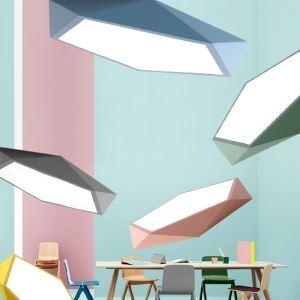 Contemporain plafonnier LED minimaliste H5cm pour restaurant/salon/chambre