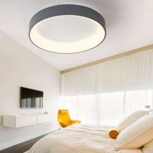 Contemporain plafonnier LED carré pour chambre séjour, 3 modèles au choix
