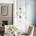 Lampe suspendue nordique à 3 ampoules D33cm pour salon chambre à coucher