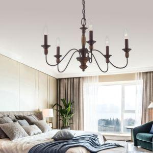 Lampe suspendue rétro pour salon chambre à coucher, 2 dimensions style vintage