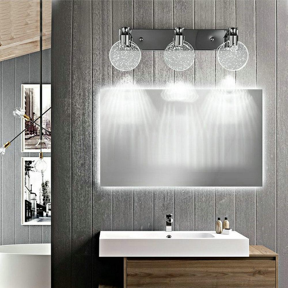 Applique Murale Led Abat Jour En Cristal Lumiere Design Pour