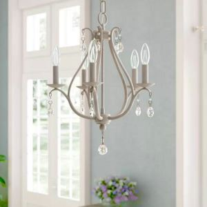 Lustre créatif moderne à 5 lumières D38cm pour salon chambre