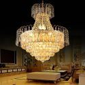 Lampe suspendue créative en cristal moderne pour salon salle d'étude