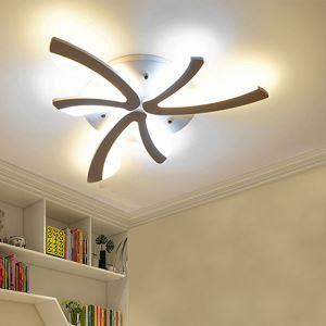 Plafonnier à LED en acrylique forme créatif en pissenlit pour salon chambre à coucher