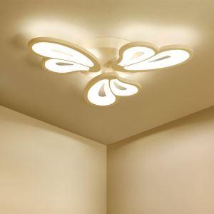 Plafonnier à LED design moderne créatif forme en cœur pour salon chambre couloir