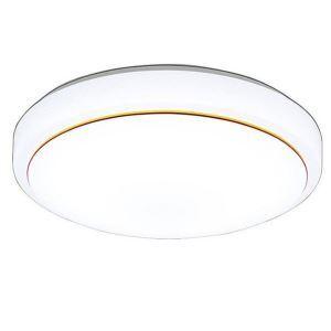 Plafonnier moderne simple à LED rond en acrylique pour salon chambre à coucher