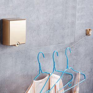 Corde à linge rétractable moderne simple pour balcon