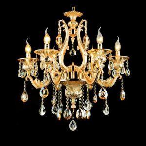 Lustre en cristal de luxe européen pour salon chambre salle à manger
