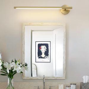 Applique LED en métal acrylique pour salon chambre salle de bains