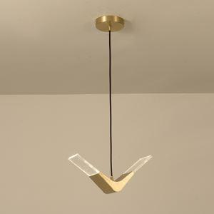 Suspension LED en métal acrylique D36cm pour salon chambre