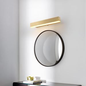 Applique murale LED rectangulaire lampe avant miroir