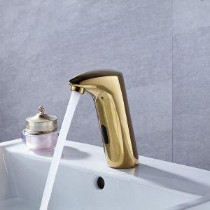 Robinet intelligent sans contact direct robinet à capteur infrarouge pour salle de bains