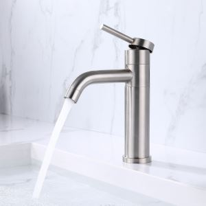 lavabo deau froide et chaude robinet noir Robinet mitigeur /à levier unique en bronze frott/é avec pompage de salle de bain